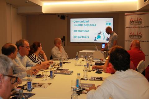 CeEx de Alía Network en mayo 2019.